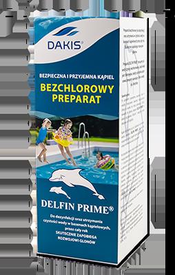 Delfin Prime - Bezchlorowy preparat do dezynfekcji wody w basenach kąpielowych